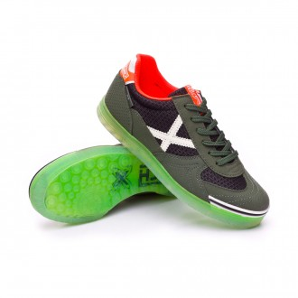 Futsal Boot  Munich Kids G3 Glow  Green