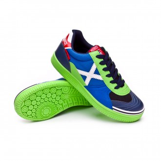 Futsal Boot  Munich Kids G3 Ice  Azul-Verde