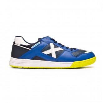 Chaussure de futsal Munich Continental Bleu