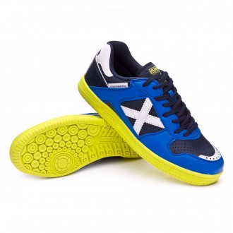 Futsal Boot  Munich Continental V2 Blue-Navy blue-Green