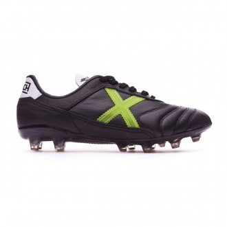 Football Boots Munich Mundial Black-Green