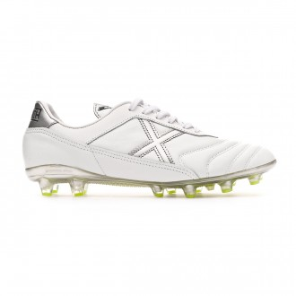 Football Boots Munich Mundial 2.0 White-Silver