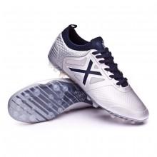 Football Boots Tiga AG Silver