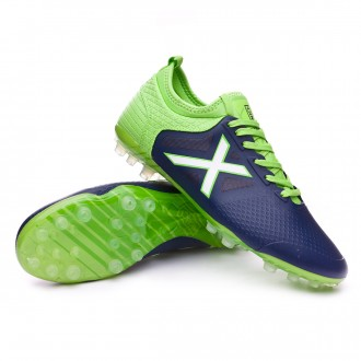 Boot  Munich Tiga Navy blue-Verde flúor