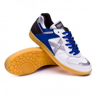 Futsal Boot  Munich Continental Exclusiva White-Blue-Black