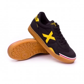 Futsal Boot  Munich Kids Gresca   Black-Yellow