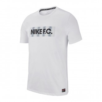 Maillot  Nike Nike F.C Dry Seasonal Block White