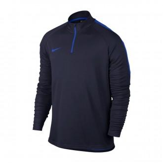 Sudadera  Nike Dry Academy Football Obsidian-Hyper royal