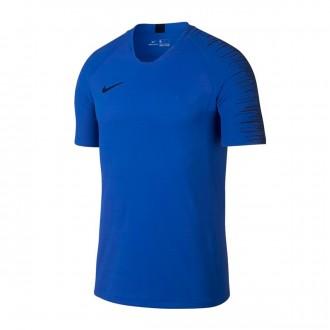 Camiseta  Nike VaporKnit Strike Top Hyper royal-Blackened blue