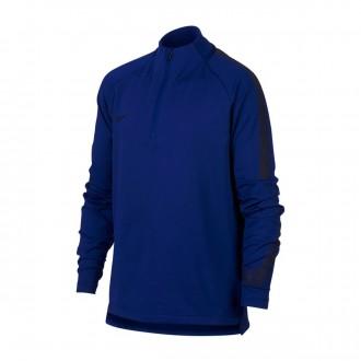 Sweatshirt  Nike Kids Dry Squad  Deep royal blue-Blackened blue