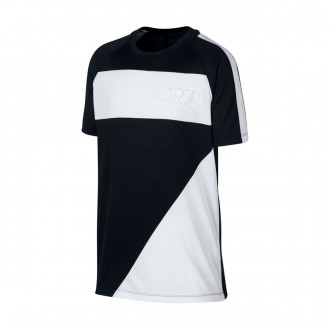 Camiseta  Nike Dry CR7 Niño Black-White