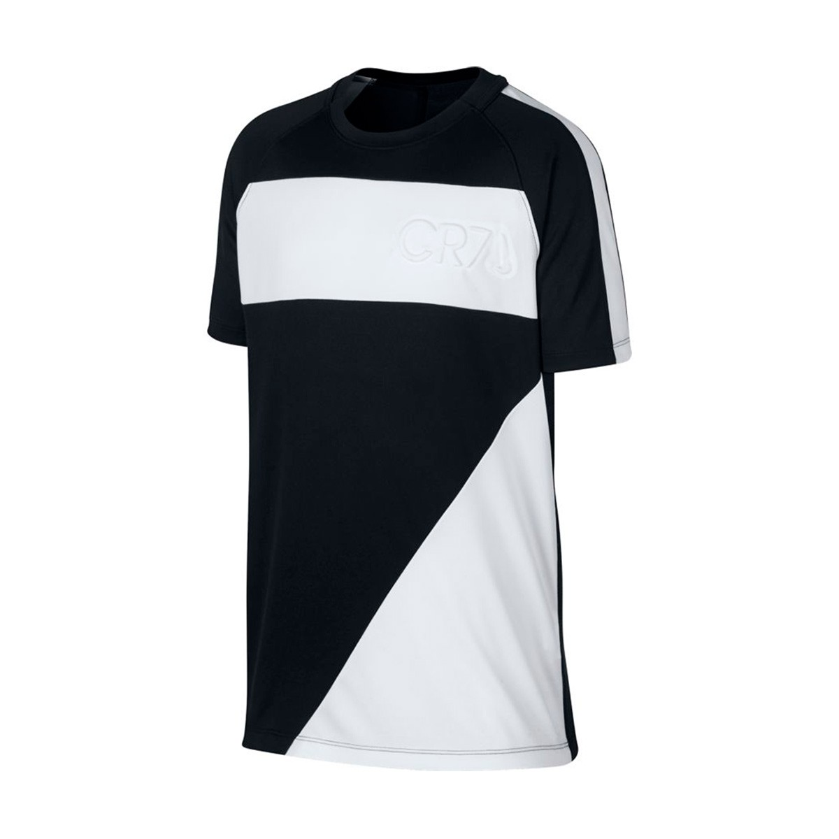 detailed look df448 a65b5 Camiseta Dry CR7 Niño Black-White