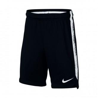 Pantalón corto  Nike Dry Squad Niño Black-White