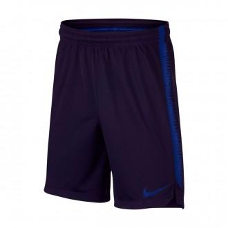 Pantalón corto  Nike Dry Squad Niño Blackened blue-Deep royal blue