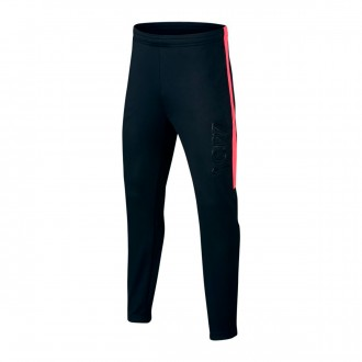 Tracksuit bottoms  Nike Dry CR7 KPZ Niño Black-Hot punch