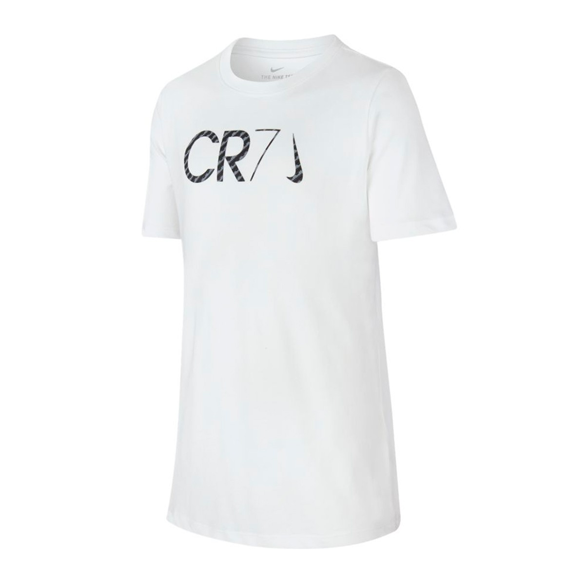 low priced 18725 2cdbd Camiseta Dry CR7 Chapter 7 Niño White