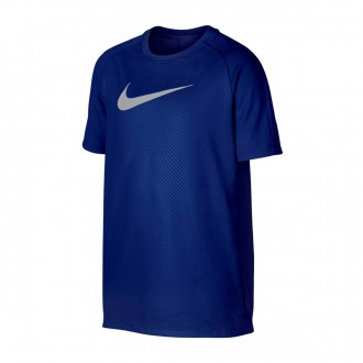 Camisola Nike Dry Academy Top SS GX2 Niño Deep royal blue-Wolf grey