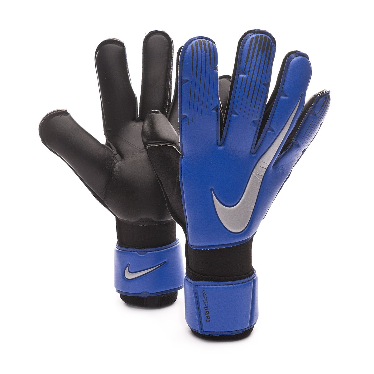 buy popular good selling 50% off Glove Nike Vapor Grip 3 Racer blue-Black-Metallic silver - Tienda ...