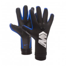 Guante Mercurial Touch Pro Black-Metallic silver-Racer blue