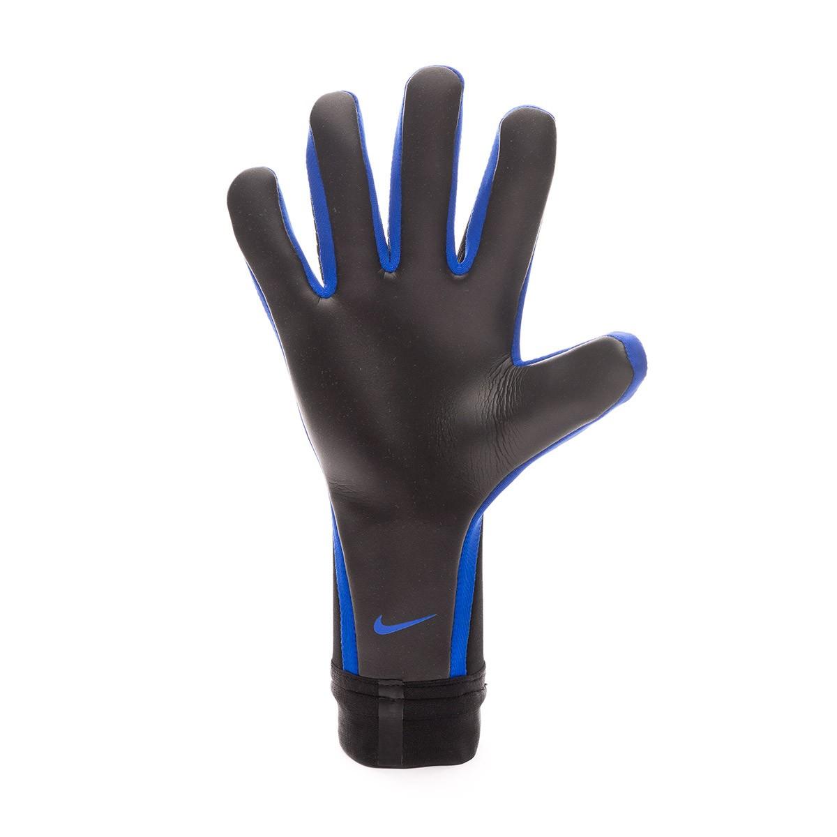 Anuncio perjudicar compartir  Glove Nike Mercurial Touch Victory Black-Metallic silver-Racer blue -  Football store Fútbol Emotion