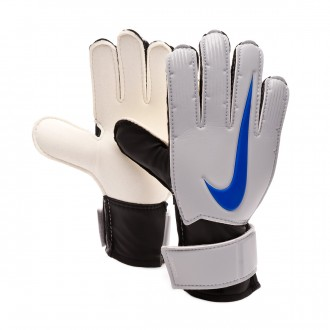 Glove  Nike Kids Match Metallic silver-Black-Racer blue