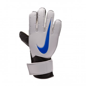 Glove  Nike Kids Match Metallic silver-Black-Racer blue