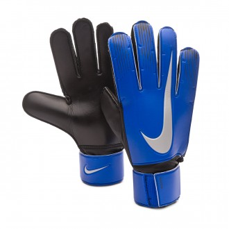 Glove  Nike Match Racer blue-Black-Metallic silver