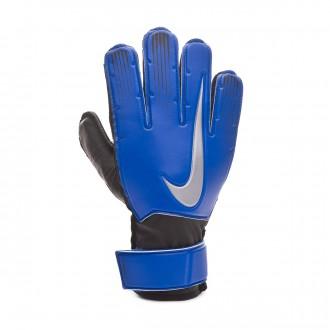 Glove  Nike Kids Match  Racer blue-Black-Metallic silver