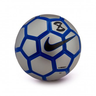 Ball  Nike MenorX Football Metallic silver-Racer blue-Black