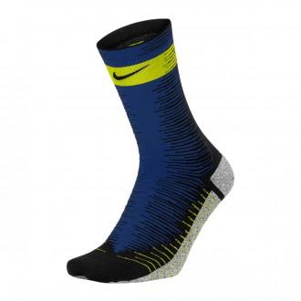 Socks  Nike NikeGrip Strike Light Black-Bright cactus