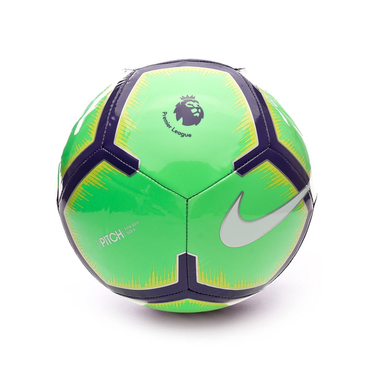 fe3a1bd341 Balón Premier League Pitch 2018-2019 Green-Purple-Yellow-White