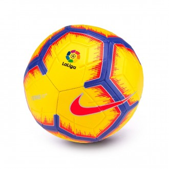 Bola de Futebol  Nike La Liga Strike 2018-2019 Yellow-Purple-Flash crimson