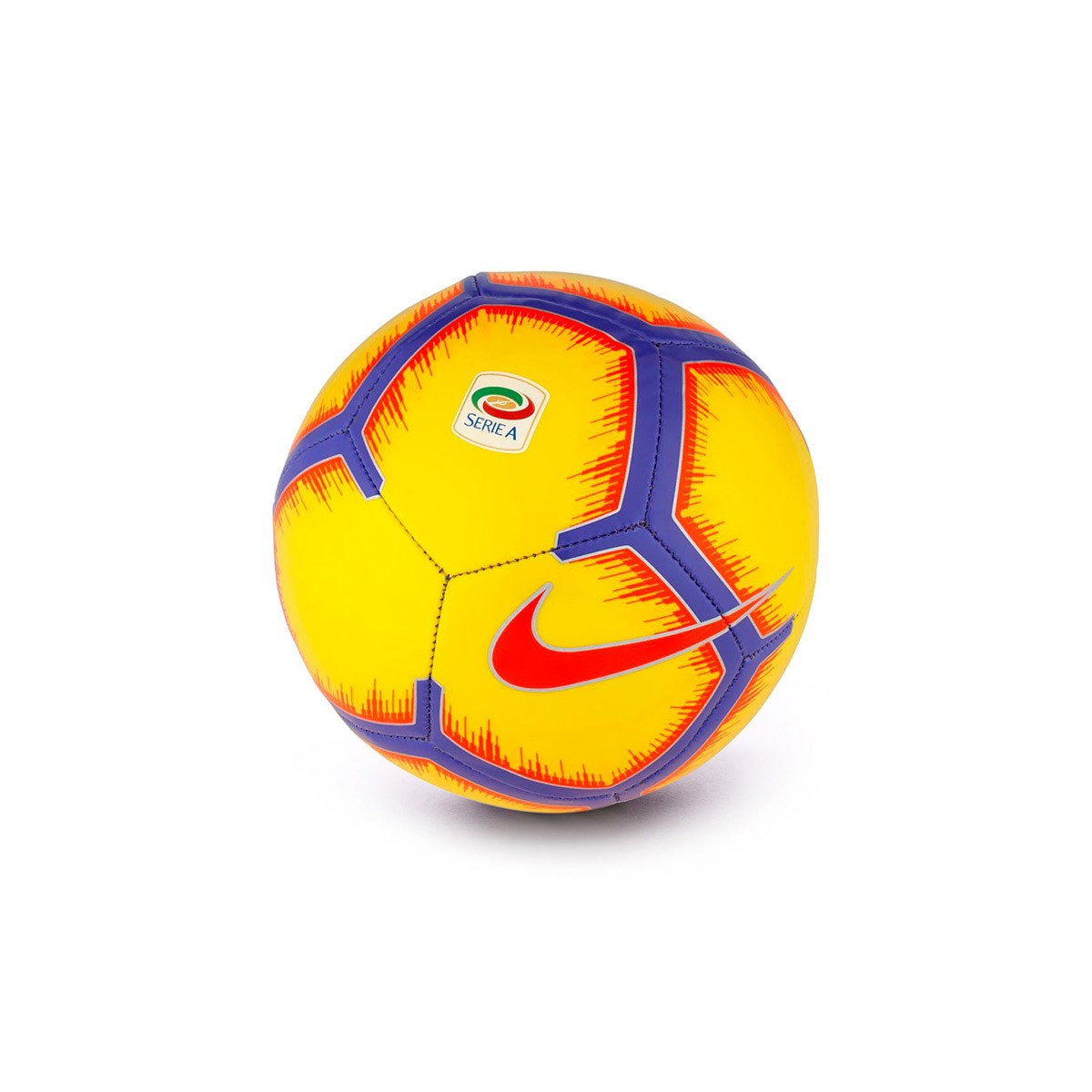 Ball Nike Mini Serie A Skills 2018-2019 Yellow-Purple-Flash crimson ... 42d1c1cf0ce