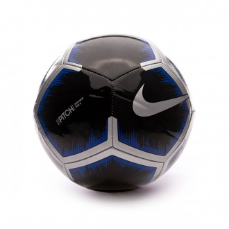 Ball  Nike Pitch 2018-2019 Black-Metallic silver