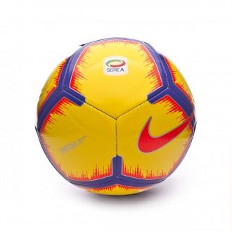 Balón  Nike Serie A Pitch 2018-2019 Yellow-Purple-Flash crimson