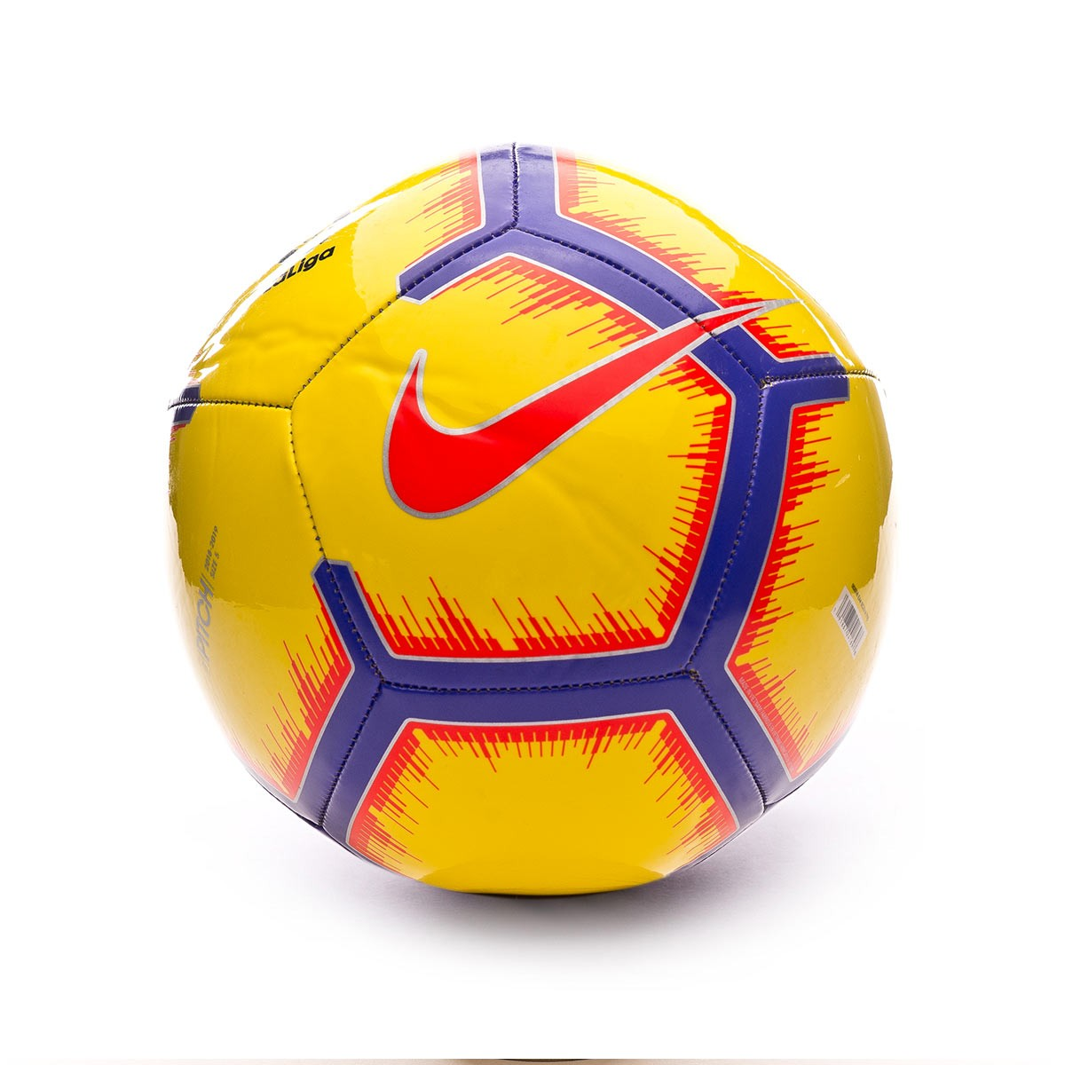 Ball Nike La Liga Pitch 2018-2019 Yellow-Purple-Flash crimson ... 4cf184f0916a9