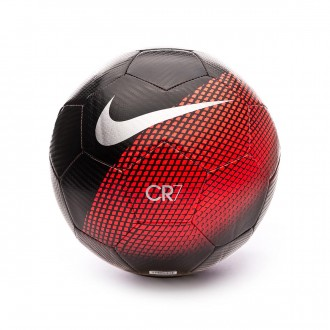 Balón  Nike CR7 Prestige 2018-2019 Black-Flash crimson-Silver
