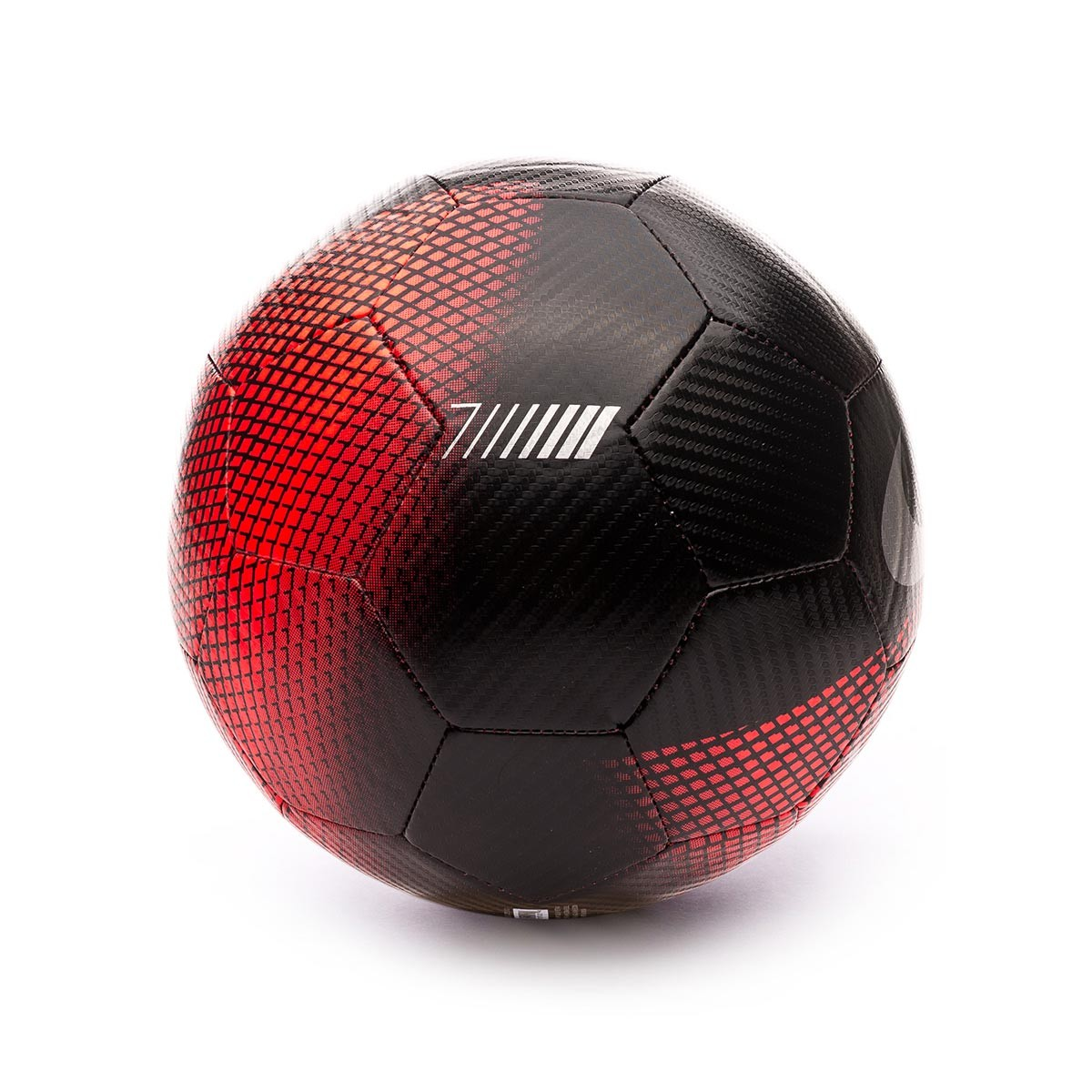e47b3a0af Nike CR7 Prestige 2018-2019 Ball. Black-Flash crimson-Silver ...