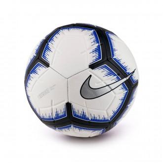 Balón  Nike Strike 2018-2019 White-Black-Racer blue-Metallic silver