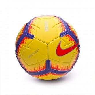 Balón  Nike Serie A Strike 2018-2019 Yellow-Purple-Flash crimson