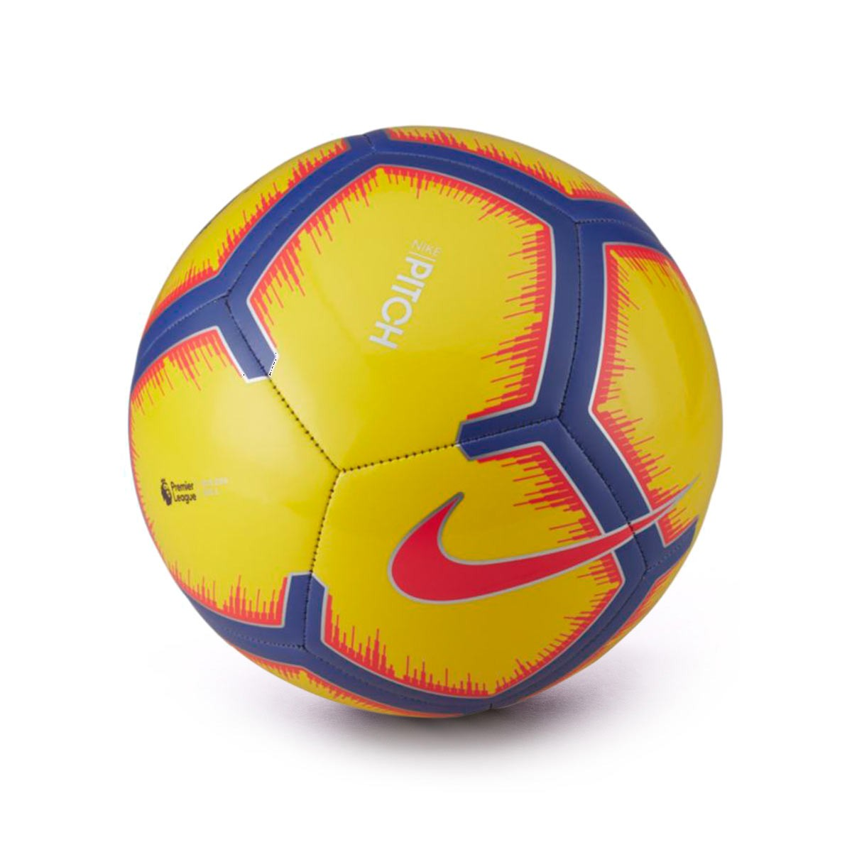 49000f95c5773 Balón Nike Premier League Pitch 2018-2019 Yellow-Purple-Flash crimson -  Tienda de fútbol Fútbol Emotion