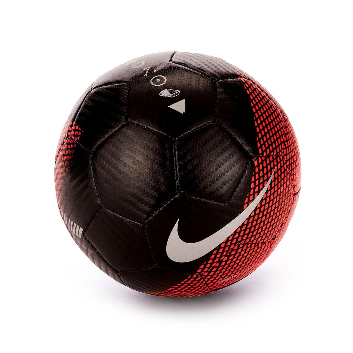 72f34553f Ball Nike Mini CR7 Skills 2018-2019 Black-Flash crimson-Silver ...