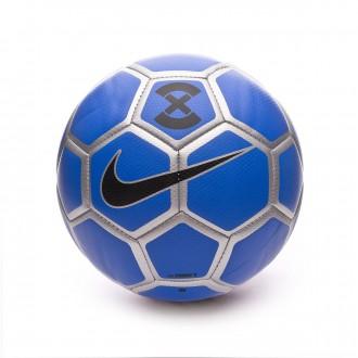 Balón  Nike StrikeX Football 2018-2019 Racer blue-Metallic silver-Black