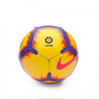 Ball  Nike Mini La Liga Skills 2018-2019 Yellow-Purple-Flash crimson