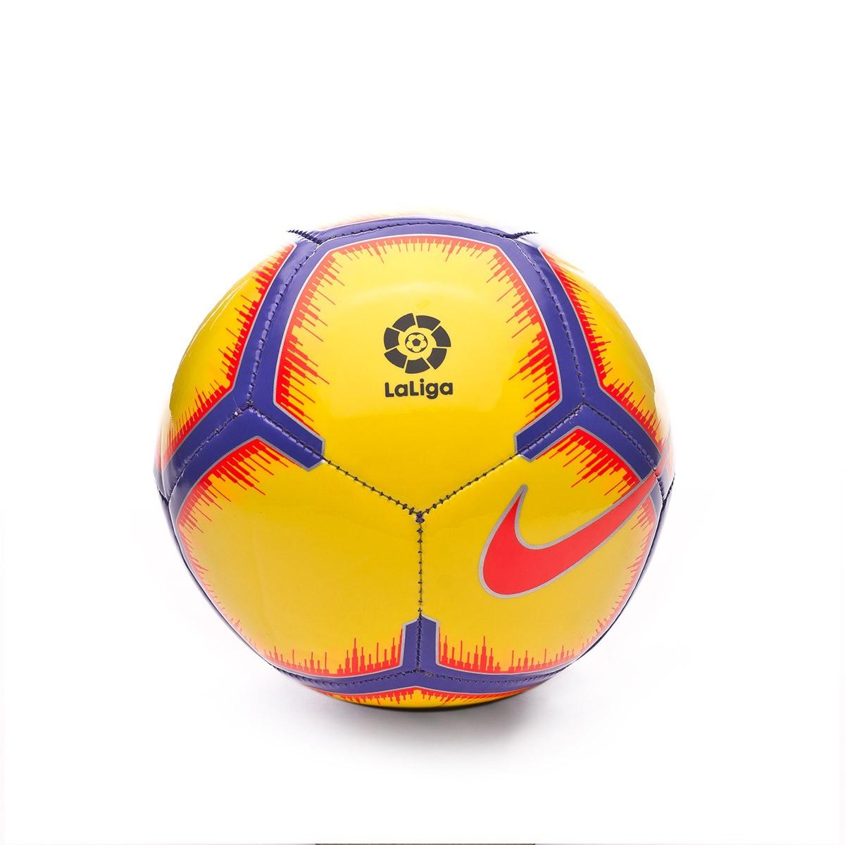Balón Nike Mini La Liga Skills 2018-2019 Yellow-Purple-Flash crimson ... c7a93b5fb8182