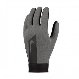 Glove  Nike Hyperwarm Academy Charcoal heather-Black