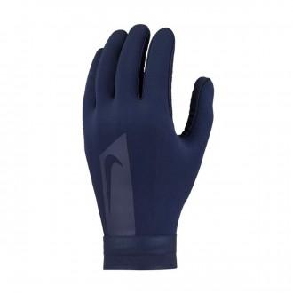 Glove  Nike Hyperwarm Academy Obsidian-White