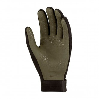 Glove  Nike Hyperwarm Academy Cargo khaki-Black