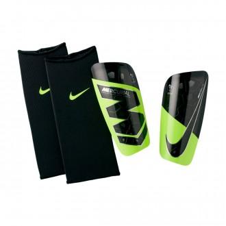 Espinillera  Nike Mercurial Lite Volt-Black
