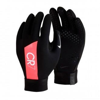 Guante  Nike CR7 Hyperwarm Niño Black-Flash crimson-Silver